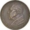"""Medaille auf Dr. Hugo Eckener mit der Darstellung der Weltfahrt mit der """"Graf Zeppelin"""" 1929"""