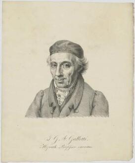 Bildnis des J. G. A. Galletti