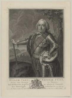 Bildnis des Willem Carel Hendrik Friso