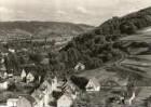 Bad Breisig, Rheinisches Schiefergebirge. Blick rheinaufwärts vom Elzenberg mit Burg Rheineck