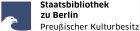 Staatsbibliothek zu Berlin - Preußischer Kulturbesitz