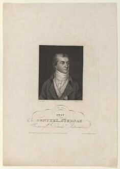 Bildnis des Christian Ernst von Bentzel-Sternau