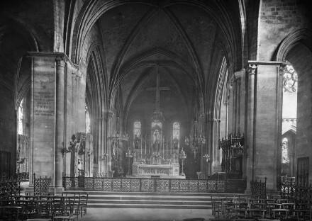 Inneres, Blick in den Chor
