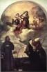 Madonna und Kind in der Glorie mit den Heiligen Franziskus und Alvise und dem Stifter