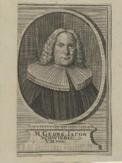 Bildnis des Georg Iacob Schwindel