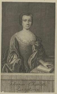 Bildnis der Johanne Charlotte Zieglerin