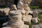 Athen - Steine auf der Akropolis