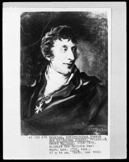 Bildnis des Hofrats Karl Bach