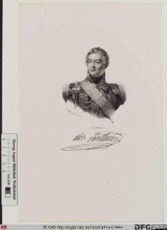 Bildnis Louis-Alexandre Berthier, 1807 duc de Neuchâtel, 1809 prince de Wagram