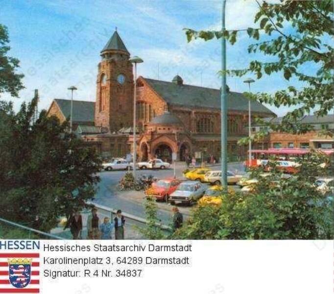 Gießen, Hauptbahnhof
