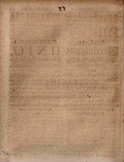 Erb-Lands-Vereinigung, Deß Rheinischen Ertz-Stiffts Cöllen : Welche Im Jahr Christi 1463. aufgericht, und nachgehends im Jahr 1550. vom Ertz-Bischoffen und Churfürsten Adolff, mit einem Hochw. Thum-Capitul, und übrigen Ständen der Grafen, Rittern und Städten zum gemeinen Besten erneuert, und von denen nachfolgenden Ertz-Bischöffen bestättiget worden = Haereditaria Unio, Rhenanae Patriae Archi-Dioecesis Coloniensis : Quae Anno Christi 1463. erecta, & postmodum Anno 1550. ab Archi-Episcopo & Electore Adolpho cum Capitulo Metropolitano, & reliquis Statibus Comitum, Nobilium, & Civitatum ad publicam Utilitatem stabiliter renovata, & a Successoribus Archi-Episcopis confirmata fuit