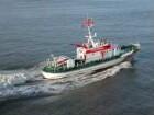 Seenotrettungskreuzer vor Cuxhaven