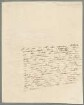 Alexander von Humboldt (1769 - 1859) Autographen: Briefe von Alexander von Humboldt an verschiedene Adressaten - BSB Autogr.Cim. Humboldt, Alexander von. 4, Alexander von Humboldt (1769 - 1859) Autographen: Brief von Alexander von Humboldt an N. N. - BSB Autogr.Cim. Humboldt, Alexander von.4