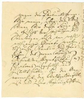 2.Seite des Briefes von Ernst Moritz Arndt