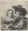 Doppelbildnis des Rembrandt Harmensz. van Rijn und der Saskia van Uylenburgh