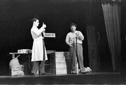 Berlin: Kabarett der Komiker; Sketch: Im Senderaum; Dorsay und Ackermann