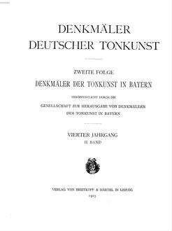 Ausgewählte Werke. 1, Werke für Orgel und Klavier
