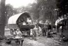 Korbmacher und Kesselflicker in der Nähe der Wormser Warte