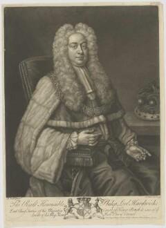 Bildnis des Philip Lord Hardwicke