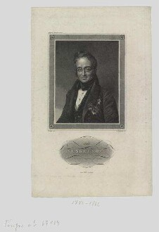 Porträt von Charles de Nesselrode