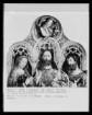 Christus zwischen der Muttergottes und Johannes Baptista