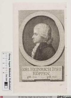 Bildnis Johann Heinrich Justus Köppen