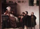 Luther als Kurrendeschüler in Eisenach