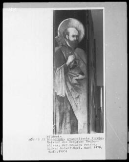 Außenflügel: hl. Petrus