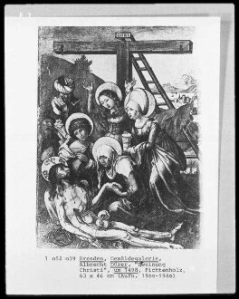 Die sieben Schmerzen der Maria — Die Beweinung Christi