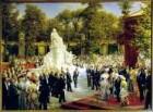 Enthüllung des Richard-Wagner-Denkmals im Tiergarten
