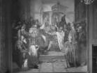"""""""Vaterländische Geschichtsgalerie"""": Otto von Wittelsbach wird zu Altenburg... mit dem Herzogtum Bayern belehnt im Jahre 1180"""