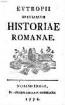 Breviarium Historiae Romanae