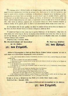 Maueranschlag<br /> Provenienz: Stadtarchiv Düsseldorf