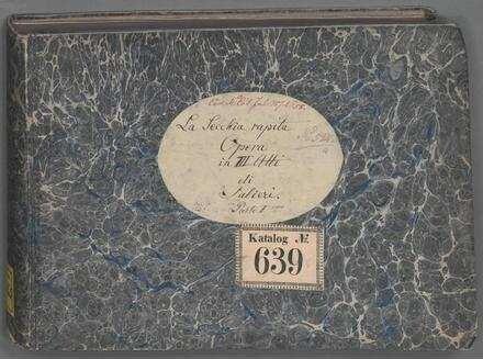 ˜Laœ secchia rapita - BSB Mus.ms. 2525