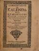 Commentarius de Kalendario : Quae Eius Prima Origio, ut Paullatim Id Luxatum, An Item Et Quomodo Sit Restituendum