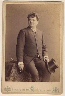 Götze, Emil - Opernsänger, mehrmals als Gast in Karlsruhe aufgetreten