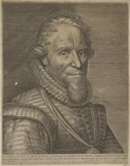 Bildnis des Mauritius, Prinz von Oranien-Nassau