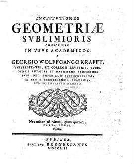 Institutiones Geometricae sublimiores