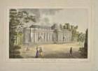 Schloss Sanssouci von Südwesten