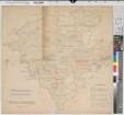 Westfalen - Versorgungsgebiete der Elektrizitätswerke - Übersichtskarte - 1925 - 1 : 300 000 - 70 x 72 - Lichtpause der Elektrizitätswerk Westfalen AG Bochum mit Einzeichnung - Oberpräsidium Münster Nr. 6913
