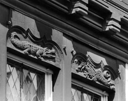 Hochstraße 1, Detail