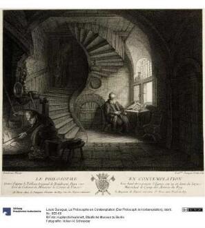 Le Philosophe en Contemplation (Der Philosoph in Kontemplation)