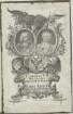 Doppelbildnis des Carolus VII und der Maria Amalia