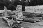 An der ehemaligen Staatsgrenze zu Westberlin/Berliner Mauer