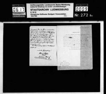 Richard, Emil (*22.06.1857 in Danzig); Hofschauspieler; ausgesch.: 1896