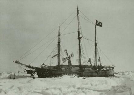 Die Fram im Eis, Nordpolexpedition 1893/98
