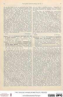 80-81 [Rezension] Schermann, Theodor, Die Geschichte der dogmatischen Florilegien vom V.-VIII. Jahrhundert