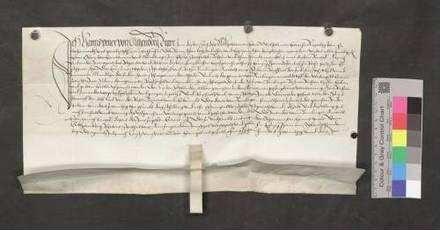Ritter Hans Ymer von Gilgenberg, österreichischer Landvogt im Elsaß, entscheidet, daß die Stadt Bräunlingen, welche mit Raphael dem Juden und seiner Schwiegermutter Mundlyn der Jüdin einen Prozeß hat, 121 Pfund 3 Schilling und 8 Pfennige Stebler erhält.