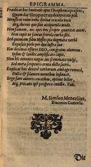 Theophonia dialogistica d. i. ein schön Büchlein von den göttlichen Gesprächen mit den Menschen ...
