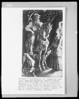 Windruda empfängt Kaiser Karl den Großen
